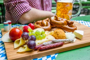 Biergarten Brotzeit
