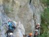 Auf dem Klettersteig...