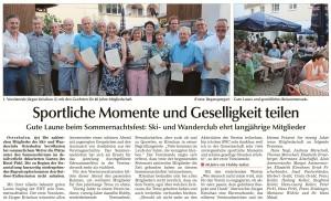 SWC Sommerfest 2016
